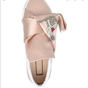 NWOB No. 21 pink platform slip ons. Size 38.5